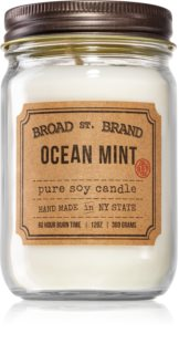 KOBO Broad St. Brand Ocean Mint aроматична свічка (Apothecary)