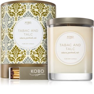 KOBO Motif Tabac and Talc bougie parfumée