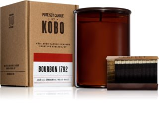 KOBO Woodblock Bourbon 1792 scented candle