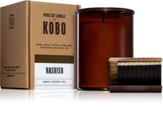KOBO Woodblock Hashish scented candle