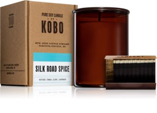KOBO Woodblock Silk Road Spice scented candle
