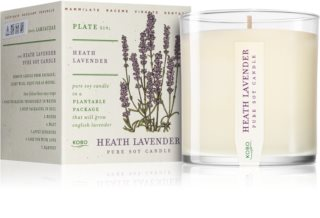 KOBO Plant The Box Heath Lavender scented candle