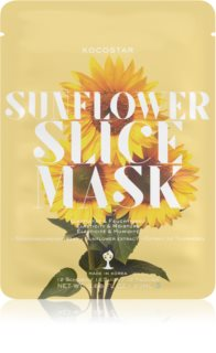 KOCOSTAR Sunflower Mask Sheet Firming Sheet Mask