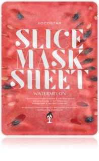 KOCOSTAR Slice Mask Sheet Watermelon Brightening and Moisturising Sheet Mask
