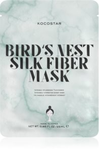 KOCOSTAR Bird's Nest Silk Fiber Mask Sheet Mask for Intensive Hydration