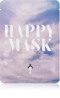 KOCOSTAR Happy Mask Nourishing Sheet Mask with Moisturizing Effect
