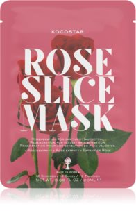 KOCOSTAR Rose Mask Sheet Sheet Mask For Skin Renewal