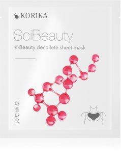 KORIKA SciBeauty plátýnková maska proti vráskám v dekoltu