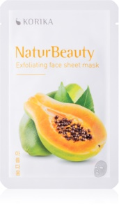 KORIKA NaturBeauty Exfoliating Face Sheet Mask