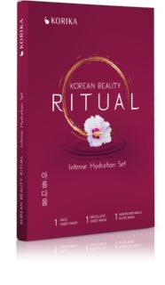 KORIKA Korean Beauty Ritual Intense Hydration arcmaszk szett