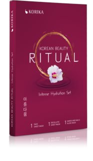 KORIKA Korean Beauty Ritual Intense Hydration set de mascarillas faciales