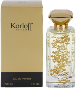 Korloff Gold eau de parfum pour femme 88 ml