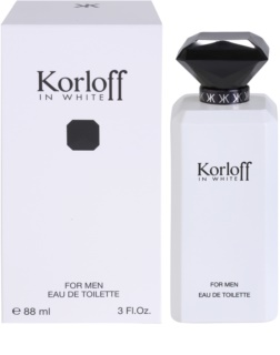 Korloff In White Eau de Toilette für Herren 88 ml