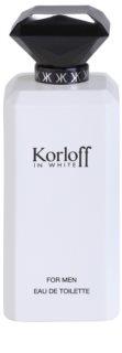 Korloff In White Eau de Toilette für Herren 88 ml