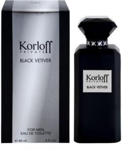 Korloff Korloff Private Black Vetiver Eau de Toilette Unisex 88 ml