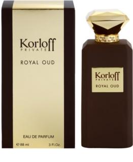 Korloff Korloff Private Royal Oud parfémovaná voda unisex 88 ml