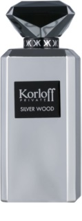 Korloff Korloff Private Silver Wood eau de parfum sample voor Mannen  2 ml
