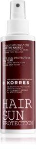 Korres Red Vine soin protecteur solaire pour cheveux