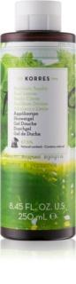 Korres Basil Lemon gel de ducha para mujer 250 ml