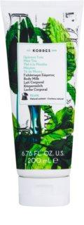 Korres Mint Tea хидратиращо мляко за тяло