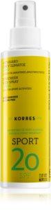 Korres Citrus Sport olje v pršilu za sončenje SPF 20
