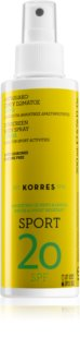 Korres Citrus Sport Zonnebrandolie Spray SPF 20