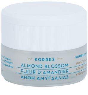 Korres Face Almond Blossom хидратиращ крем  за смесена и мазна кожа