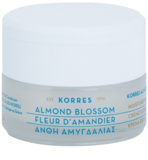 Korres Face Almond Blossom Moisturising Cream for Combiantion and Oily Skin