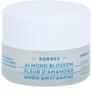 Korres Face Almond Blossom Хидратиращ и подхранващ крем за суха или много суха кожа