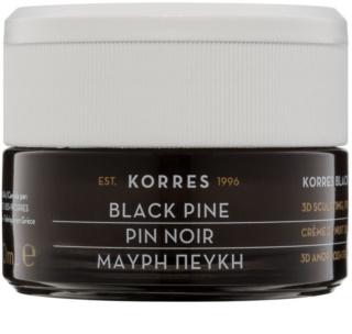 Korres Face Black Pine učvrstitvena nočna krema z učinkom liftinga