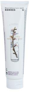 Korres Hair Almond and Linseed mascarilla nutritiva para cabello seco y dañado