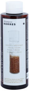 Korres Rice Proteins & Linden shampoing pour cheveux fins