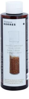Korres Rice Proteins & Linden champô para cabelo fino