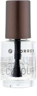 Korres Decorative Care Nail Colour base de esmalte de uñas protectora