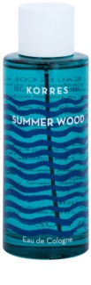 Korres Summer Wood colonia unisex 100 ml