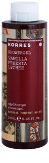 Korres Vanilla (Freesia/Lychee) Duschgel für Damen 250 ml