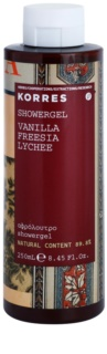 Korres Vanilla, Freesia & Lychee Shower Gel for Women