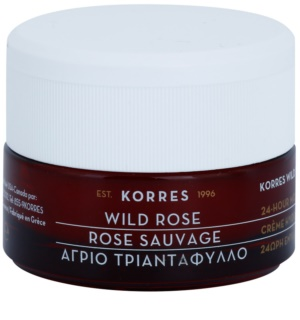 Korres Face Wild Rose Brightening and Moisturizing Cream for Combiantion and Oily Skin