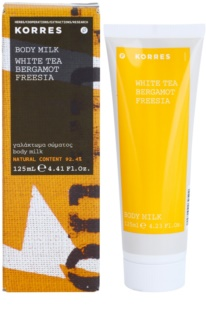 Korres White Tea (Bergamot/Freesia) Körperlotion unisex 125 ml