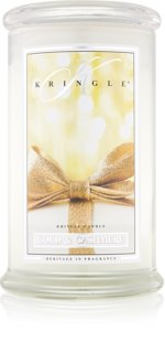 Kringle Candle Gold & Cashmere illatos gyertya