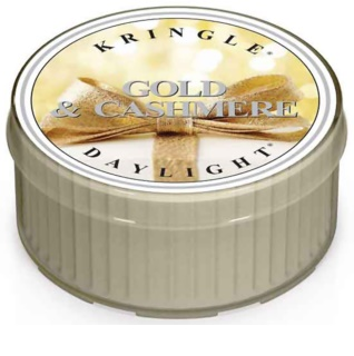 Kringle Candle Gold & Cashmere świeczka typu tealight 35 g