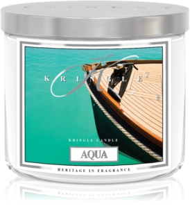 Kringle Candle Aqua scented candle I. 411 g