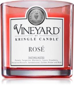 Kringle Candle Vineyard Rosé mirisna svijeća
