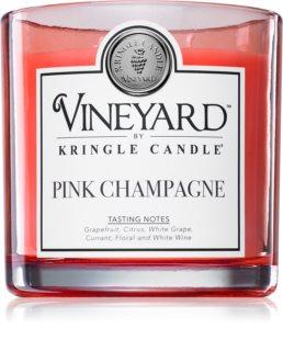 Kringle Candle Vineyard Pink Sparkling Wine mirisna svijeća