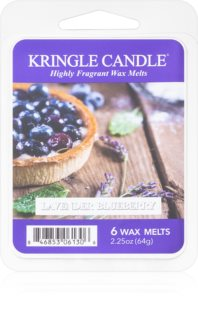 Kringle Candle Lavender Blueberry wosk zapachowy