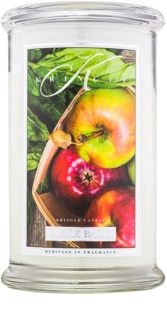Kringle Candle Apple Basil vonná svíčka 624 g