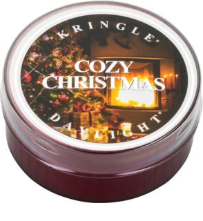 Kringle Candle Cozy Christmas teamécses