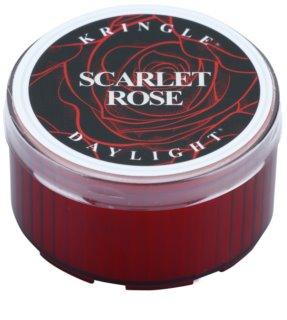 Kringle Candle Scarlet Rose čajová svíčka 35 g