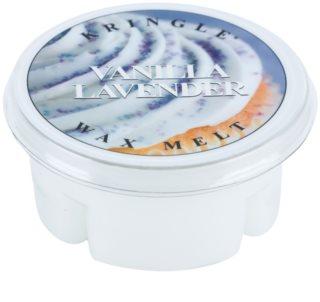 Kringle Candle Vanilla Lavender illatos viasz aromalámpába 35 g