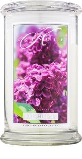 Kringle Candle Fresh Lilac ароматна свещ  624 гр.